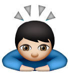 bowing deeply emoji