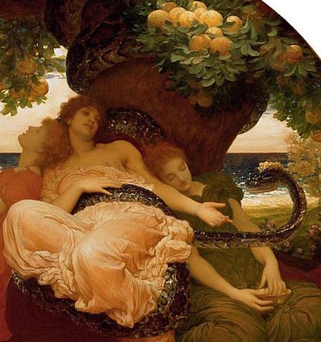 Garden of Hesperides painting