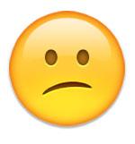 disappointment emoji