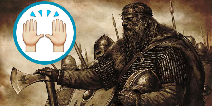 viking praise emoji