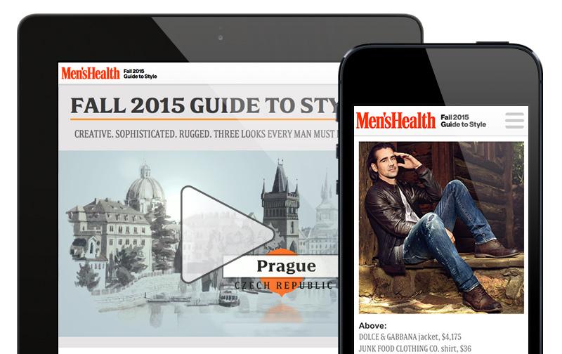 responsive magazine design
