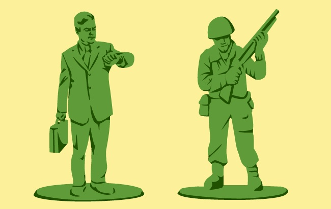 army men illustration