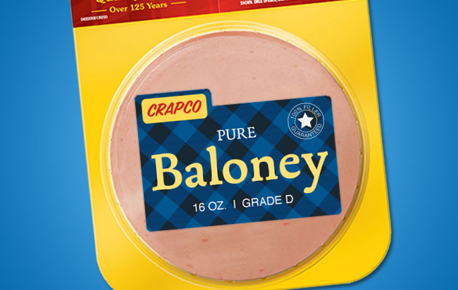 baloney illustration