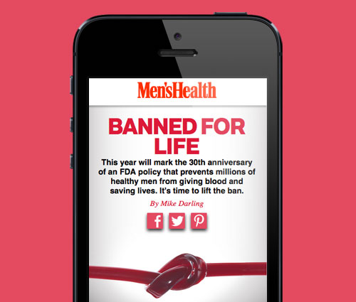 'Banned for Life' Feature Article